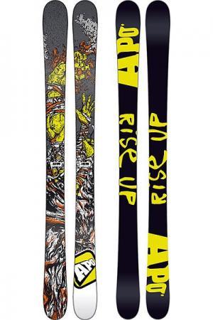 Горные лыжи детские  Sammy C Kid 115 Black/Yellow Apo. Цвет: черный,желтый