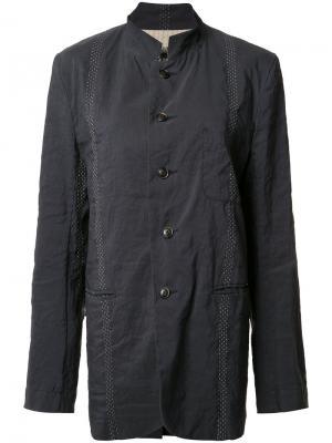 Куртка на пуговицах Uma Wang. Цвет: синий