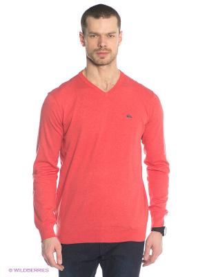 Пуловер KELVIN Quiksilver. Цвет: коралловый
