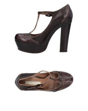 Туфли PURA LÓPEZ. Цвет: темно-коричневый