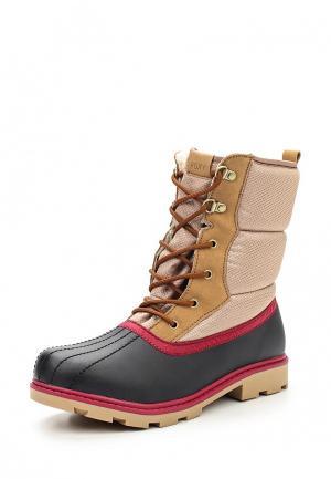 Ботинки Roxy. Цвет: бежевый