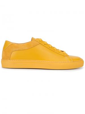 Кеды Capri Koio. Цвет: жёлтый и оранжевый