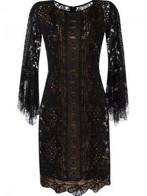 Lace dress Martha Medeiros. Цвет: чёрный