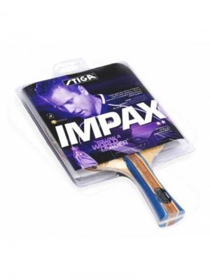 Ракетка для настольного тенниса IMPAX ACS ITTF (1677-01) Stiga. Цвет: красный