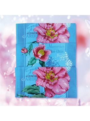 Комплект полотенец ZLATA KORUNKA. Цвет: синий