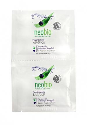Маска для лица Neobio. Цвет: белый