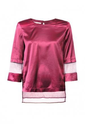 Блуза LO. Цвет: фиолетовый