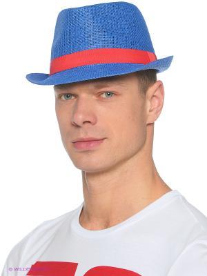 Шляпа Finn Flare. Цвет: голубой