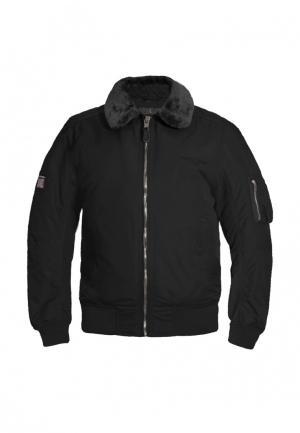 Куртка утепленная Tactical Frog. Цвет: черный
