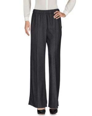 Повседневные брюки ODEEH. Цвет: серый