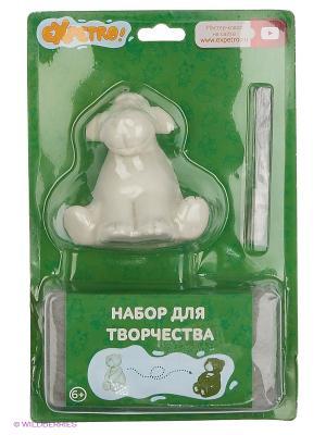 EXPETRO Набор для творчества Овечка с зеленым шарфом Экспетро. Цвет: зеленый