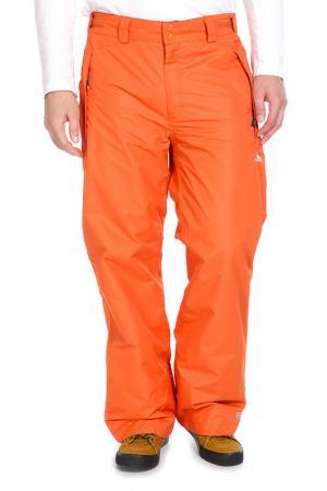 Спортивные брюки Trespass. Цвет: оранжевый