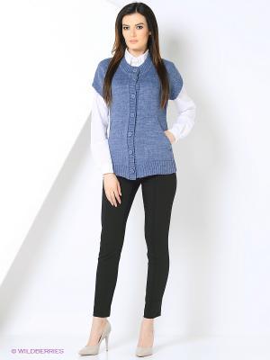 Жакет Milana Style. Цвет: синий