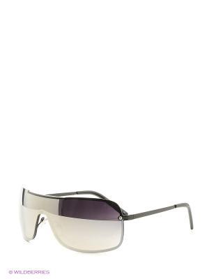 Солнцезащитные очки Vittorio Richi. Цвет: серебристый