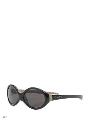 Солнцезащитные очки VL 1070 0005 PC4000 Vuarnet. Цвет: черный