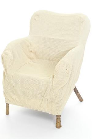Чехол на кресло MIKRONESSE. Цвет: бежевый