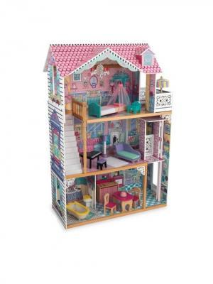 Трехэтажный дом Аннабель KidKraft. Цвет: бледно-розовый