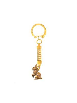 Брелок Заяц Aztek. Цвет: бронзовый, светло-оранжевый, желтый, коричневый