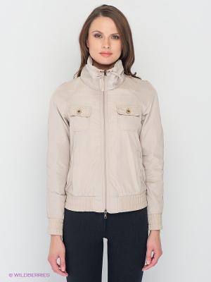 Куртка Lisa Campione. Цвет: светло-бежевый