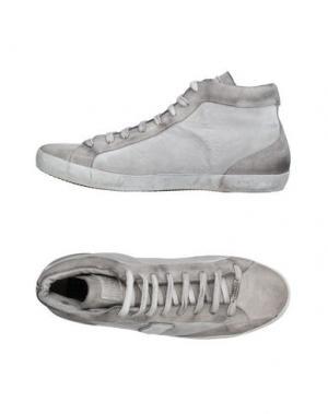 Высокие кеды и кроссовки WILLIAMS WILSON. Цвет: серый