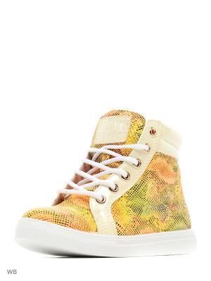 Ботинки San Marko. Цвет: желтый
