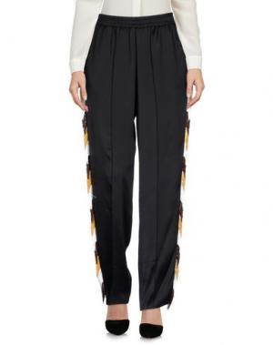 Повседневные брюки ARIES. Цвет: черный