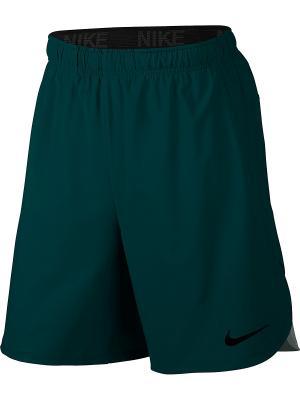 Шорты M NK FLX SHORT VENT Nike. Цвет: зеленый