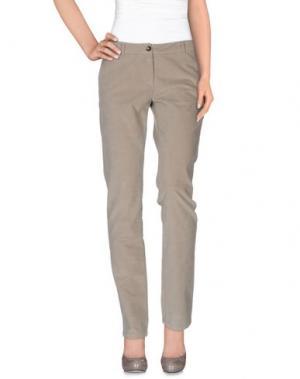 Повседневные брюки CONTE OF FLORENCE. Цвет: светло-серый
