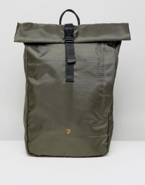 Farah Рюкзак с клапаном Millen. Цвет: зеленый