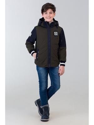 Куртка Steen Age. Цвет: зеленый