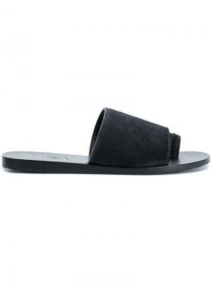Сандалии Ligia Ancient Greek Sandals. Цвет: чёрный