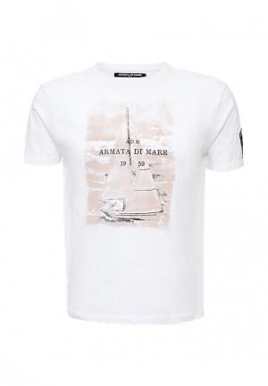 Футболка Armata di Mare. Цвет: белый