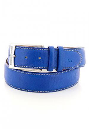 Ремень HARMONT&BLAINE. Цвет: голубой