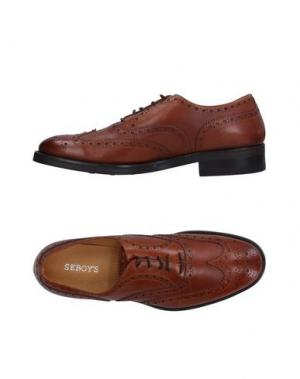 Обувь на шнурках SEBOY'S. Цвет: какао