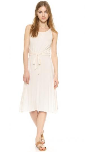 Платье Bella с завязками спереди Ella Moss. Цвет: золотой