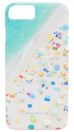 Чехол Neon Umbrellas для iPhone 7 Gray Malin
