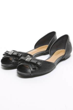 Туфли открытые Dumond. Цвет: черный