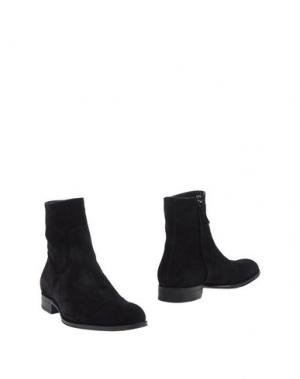 Полусапоги и высокие ботинки MR.HARE. Цвет: черный