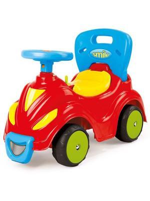 Автомобиль-каталка 2 в 1 красный Dolu.. Цвет: красный