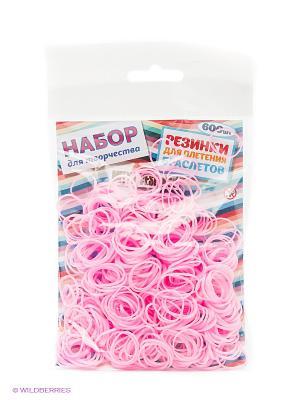 Резиночки для плетения браслетов Mitya Veselkov. Цвет: розовый