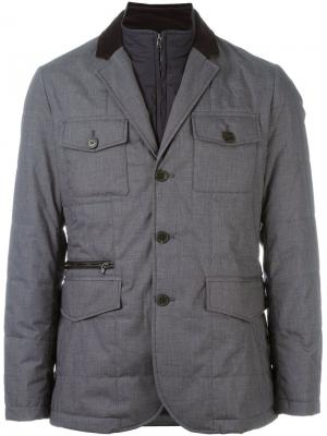 Куртка Mayfair Hackett. Цвет: серый