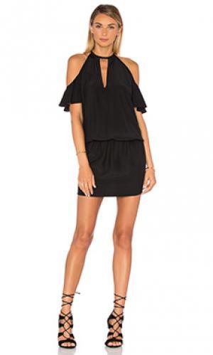 Платье celia Amanda Uprichard. Цвет: черный