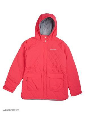 Куртки Columbia. Цвет: розовый