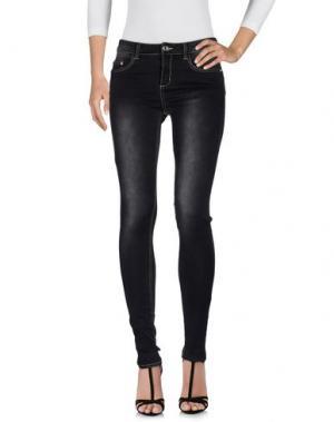 Джинсовые брюки SWEET SECRETS. Цвет: стальной серый