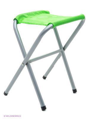 Стул раскладной GreenGlade. Цвет: серый, зеленый