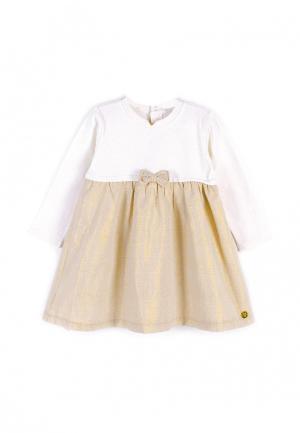 Платье Coccodrillo. Цвет: бежевый