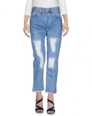 Джинсовые брюки LEVI'S RED TAB. Цвет: синий