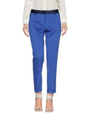 Повседневные брюки TONELLO. Цвет: синий