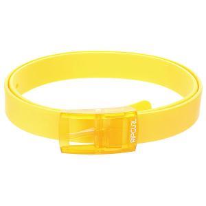 Ремень  Silicone Belt Safety Rip Curl. Цвет: желтый