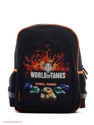 Рюкзак World of Tanks (WOT-SW-B1) MAXITOYS. Цвет: черный